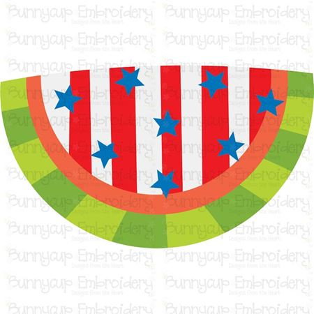 Patriotic Watermelon SVG