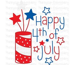 Happy 4th of July SVG