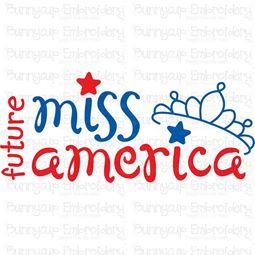 Future Miss America SVG