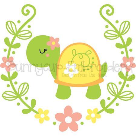 Turtle Laurel SVG