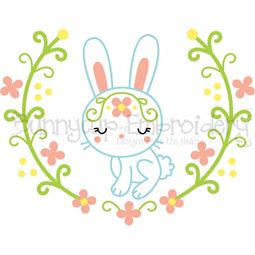Rabbit Laurel SVG