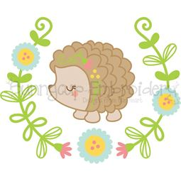 Hedgehog Laurel SVG