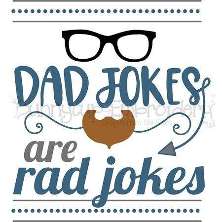 Dad Jokes Are Rad Jokes SVG