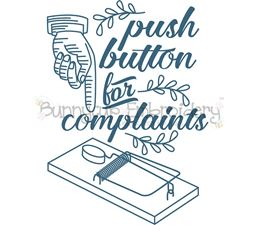 Push Button For Complaints SVG