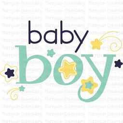 Baby Boy SVG
