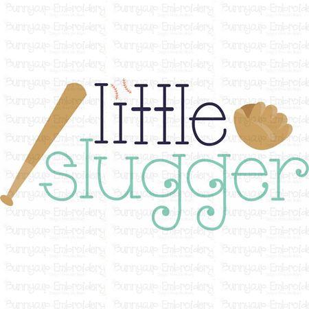 Little Slugger SVG