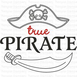 True Pirate SVG