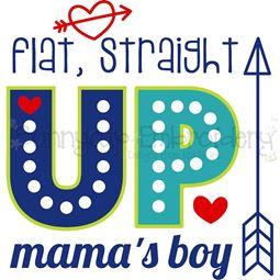 Flat Straight Up Mama