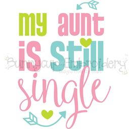 My Aunt Is Still Single SVG