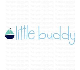 Little Buddy SVG