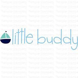 Little Buddy SVG