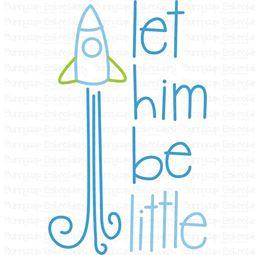 Let Him Be Little SVG