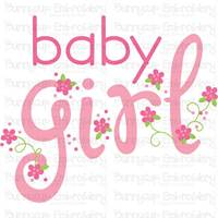 Baby Girl Sentiments SVG