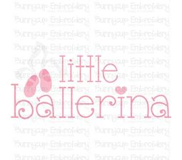 Little Ballerina SVG