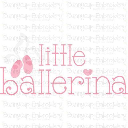 Little Ballerina SVG