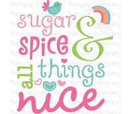 Sugar And Spice And All Things Nice SVG