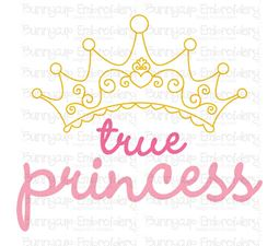 True Princess SVG
