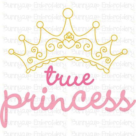 True Princess SVG