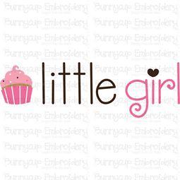 Little Girl SVG