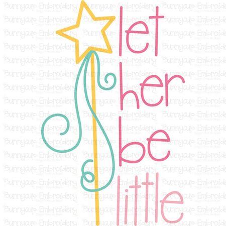 Let Her Be Little SVG
