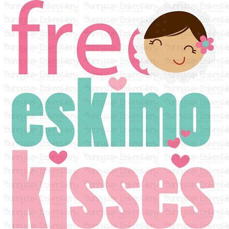 Free Eskimo Kisses SVG