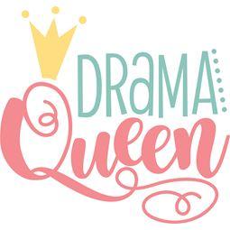 Drama Queen SVG