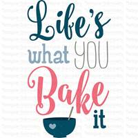 Baking Sentiments SVG