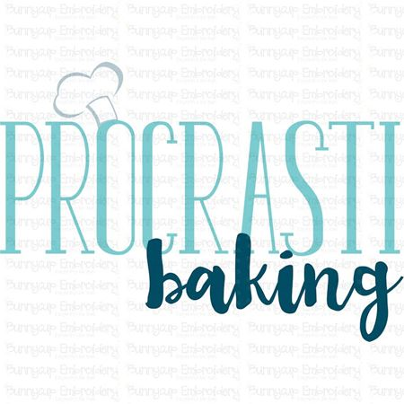 Procrasti Baking SVG