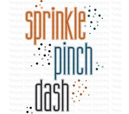 Sprinkle Pink Dash SVG