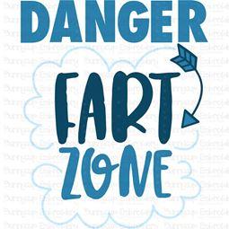 Danger Fart Zone SVG