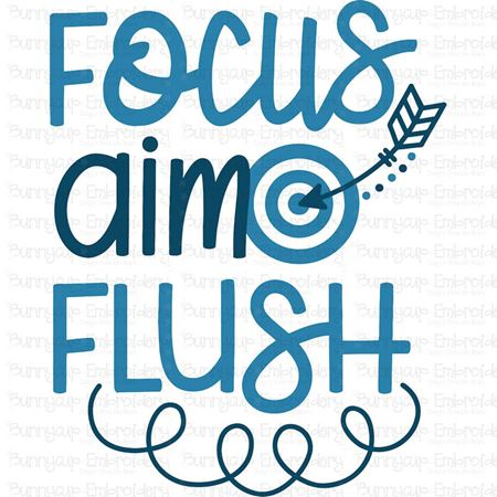 Focus Aim Flush SVG