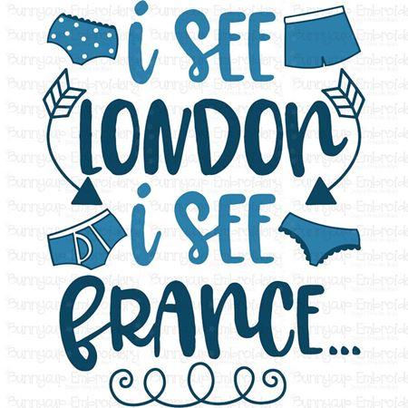 I See London I See France SVG