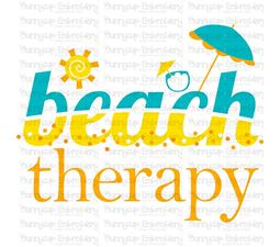 Beach Therapy SVG