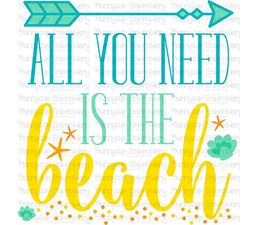 All You Need Is The Beach SVG