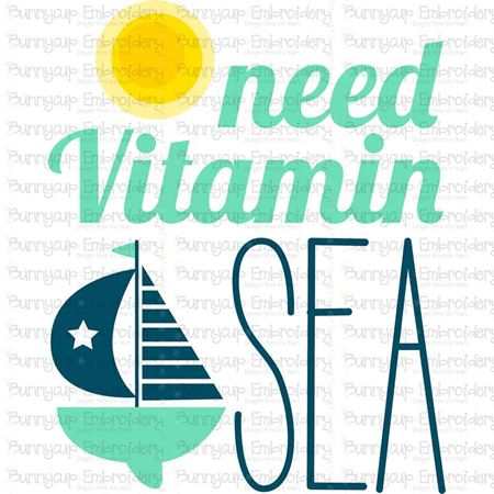 Need Vitamin Sea SVG