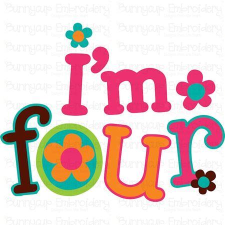 I'm Four SVG