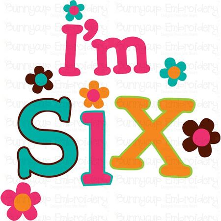 I'm Six SVG