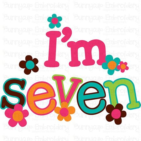 I'm Seven SVG