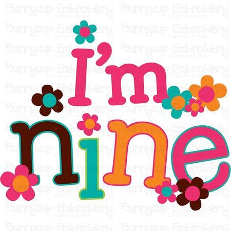 I'm Nine SVG