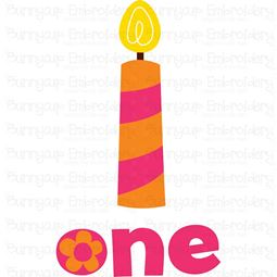 One Candle SVG