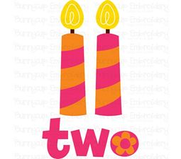 Two Candles SVG