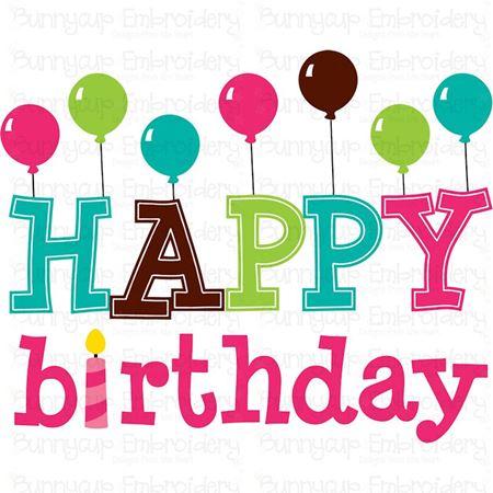Happy Birthday SVG