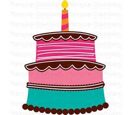 Birthday Cake SVG