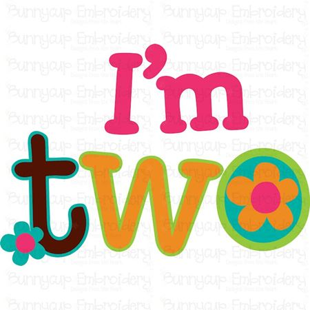I'm Two SVG