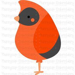 Boxy Cardinal SVG