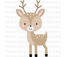 Boxy Deer SVG