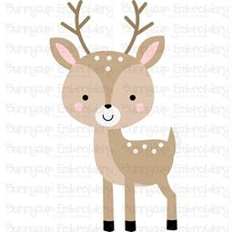 Boxy Deer SVG