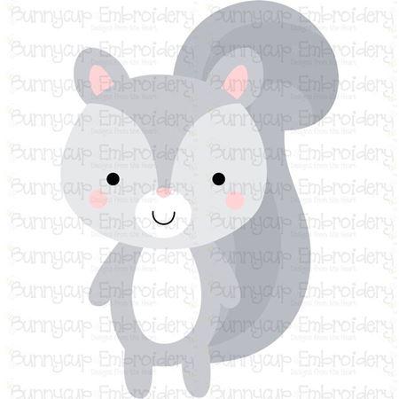 Boxy Squirrel SVG