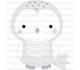 Boxy Owl SVG