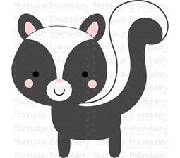 Boxy Skunk SVG